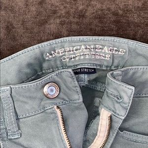 American Eagle Outfitters Jeans - Light green American eagle jeans